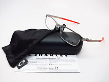 New Authentic Oakley Tincup OX3184-0854 Matte Silver Eyeglasses 54mm