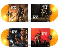 Walking Dead Soundtrack Collection: Telltale Series - Yellow Vinyl Box LP Record