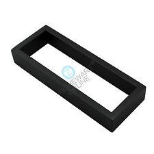 Matt Black 200mm Hand Towel Rack Rail Stainless Steel Ring Wall Bathroom Holder