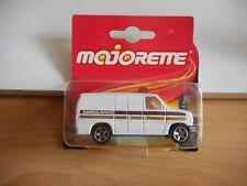 Majorette Ford Econoline Ambulance in White on Blister