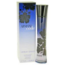Armani Code Perfume By GIORGIO ARMANI FOR WOMEN 2.5 oz EDP Spray 430706