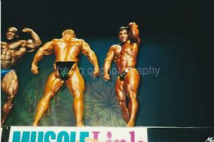 Ironman MUSCLE MEN Found Photo PHOTOGRAPHER GENE MOZEE Bodybuilding 91 4 R