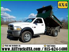 2011 Dodge RAM 5500 HD 4X4 REGULAR CAB 6.7 CUMMINS DIESEL DUMP TRUCK