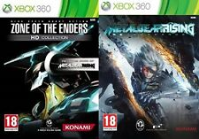 zone of the enders hd collection & metal gear rising revengeance  PAL NEW&SEALED