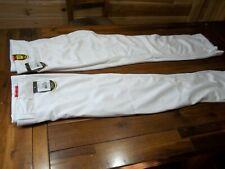 2 pr.- WILSON Men,s Adult Baseball Pants White  Sz. Large  New With TagsLot A11