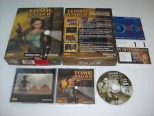 TOMB RAIDER IV 4 The Last Revelation Pc Cd Rom Original BIG BOX - Secure Post
