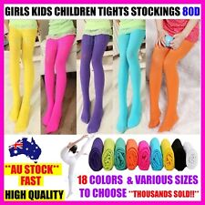 GIRLS KIDS DANCE BALLET TIGHT TIGHTS STOCKINGS PANTYHOSE HOSIERY OPAQUE - SIZES