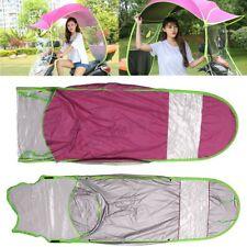 Pink Car Motor Sun Shade Rain Cover Scooter Umbrella Mobility Waterproof Outdoor