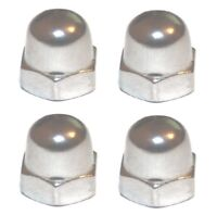 M14 x 1.25 A2 Dome / Acorn Nut Pack  (Pack of 4) (Metric Extra Fine)