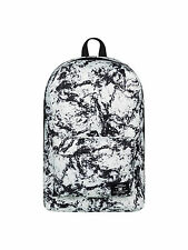 DC SHOES MENS BACKPACK.BUNKER WHITE/BLACK RUCKSACK BAG.SCHOOL 21.5L 7S/02/WCQ1