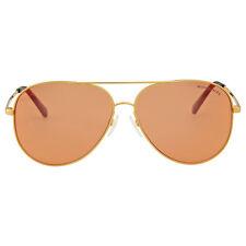 Michael Kors Kendall I Orange Flash Aviator Sunglasses
