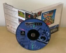 THEME PARK ps1 psx gioco game Sony Playstation originale prima stampa pal EA