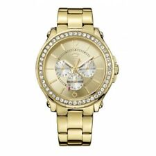 Juicy Couture Women's 1901082 Pedigree Gold Chronograph Crystal Watch