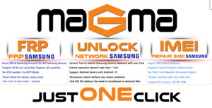 Magma Tool Samsung 1 Credit for Unlock & FRP Supported Technicians/Unlockers
