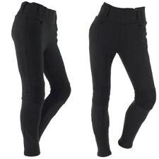 Pantalones de algodón de rodilla para motoristas para mujer