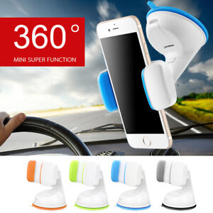 Car Holder 360° Universal Stand Mount Windshield Bracket For Mobile Cell Phone