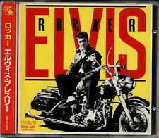 ELVIS PRESLEY Rocker JAPAN 1st Press CD 1985 3500Yen RPCD-1001 W/Orikomi Obi
