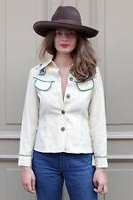 WesternHemd Bluse shirt bestickt Blumen 70er True VINTAGE 70s cowgirl cowboy NOS