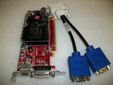 Dual Monitor VGA ATI Radeon HD3450 256MB DDR2 Graphic Video Card-PCI-Express