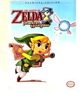 Legend of Zelda Phantom Hourglass Premiere Edition Strategy Prima - Guide Book