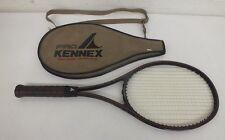 """Vintage Pro Kennex Black Ace Mid-Size 100% Graphite Tennis Racquet w/4 1/2"""" Grip"""