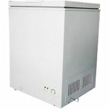 Chest Freezer 3.5 Cu. Ft. Adjustable Thermostat Defrost Drain Upright Design