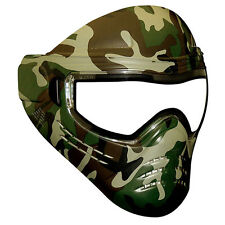 New Save Phace Diss Series Thermal Paintball Goggles Mask - OSC Woodland Camo