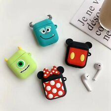 Disney Mickey Mouse Monsters inc Wireless Earphone Protective Case For AirPods