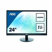 "Aoc E2470swh Ecran PC LED 23"" 1920 x 1080 5 MS D-sub/hdmi"