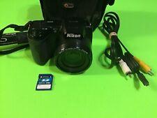 Nikon COOLPIX L105 12.1MP Digital Camera - Black