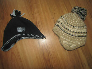 2 BABY BOYS HATS 6-12 MONTHS GOOD CONDITION