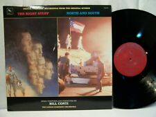 The Right Stuff / North And South  OST BILL CONTI 1986 Varese Sarabande NM!