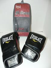 Everlast Mma Heavy Bag Training Boxing Gloves Black Red Size Large / Xl 7502Lxl