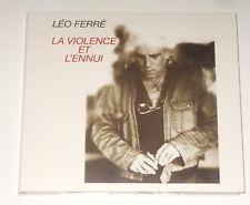 Leo FERRE-cd-la violenza simulata et l 'ennui-la mémoire et la mer 20 006