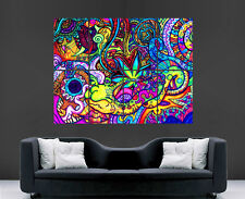 TRIPPY POSTER PSYCHEDELIC PICTURE GIANT WALL ART HUGE GIANT