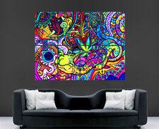 Trippy poster psychédélique photo mur géant art énorme géant