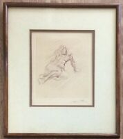 Two Etchings By Jacques Villon Signed In Pencil