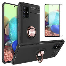 For Samsung Galaxy A71 A51 5G Case With Ring Stand Phone Cover/Screen Protector