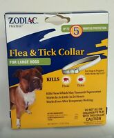 """ZODIAC FLEA & TICK COLLAR FOR LARGE DOG. FOR DOGS & PUPPIES WITH NECKS UP TO 25"""""""