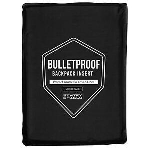 SentryShield® Level IIIA 10mm Thin Lightweight Bulletproof Handbag Armor Insert