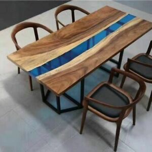 """72"""" x 36"""" epoxy Resin table top, epoxy Center Coffee table top Furniture"""