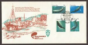 1982 Cheynes Beach Albany Australias Last WHALING Station Commemorative Cover