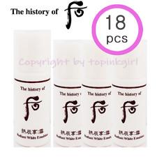 18pcs x Whoo Seol Radiant White Emulsion,New Whitening Lotion Moisture