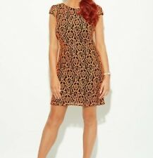 Amy Childs Collection Orange Freya Dress Size 8