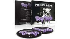 DEEP PURPLE PARIS 1975 DOPPIO CD DIGIPACK NUOVO SIGILLATO !!
