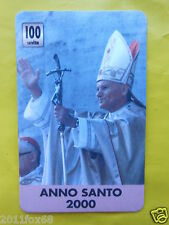 1998 phone cards 100 units karol wojtyla pope john paul II wojtila telefonkarten