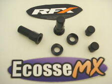 RFX Rim Lock Nuts Dust Caps BLACK CRF CR YZF YZ RM KXF