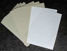 Card Model Building Starter Kit 2mm 1mm 200gsm and clear - Ideal for Scalescenes