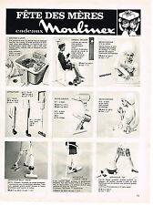 PUBLICITE  1969   MOULINEX  éléctroménager 1