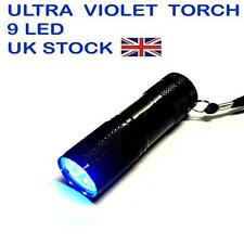 Uv Antorcha Ultra Violeta Blacklight Led Ideal Para Usar Con Leak dectection Dye